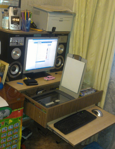 компактный стол для компа