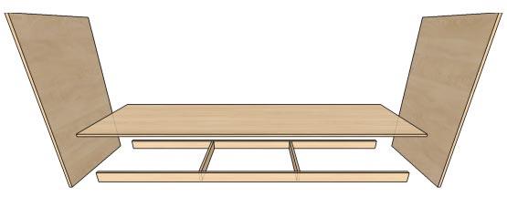 Цоколь для корпусной мебели