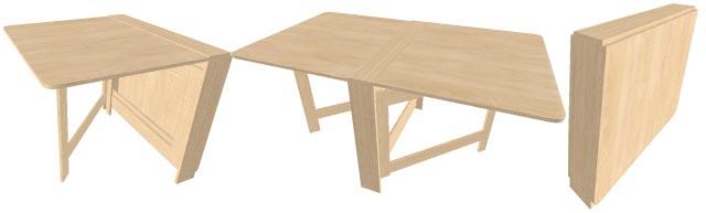 складной стол-книжка