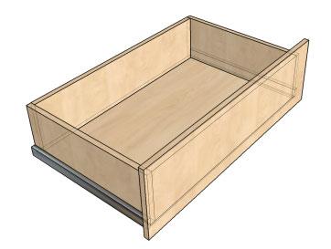 Мебельные ящики выдвижные своими руками