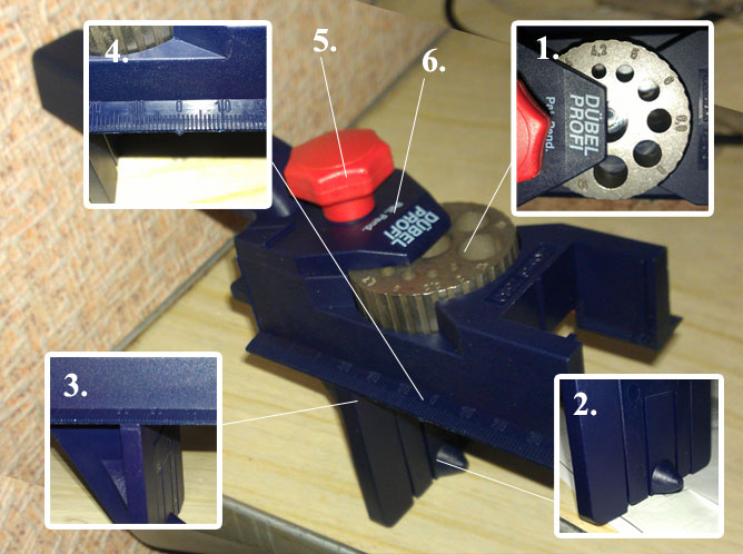 кондуктор мебельный шаблон
