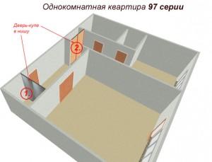 примеры установки дверей купе в 97 серию