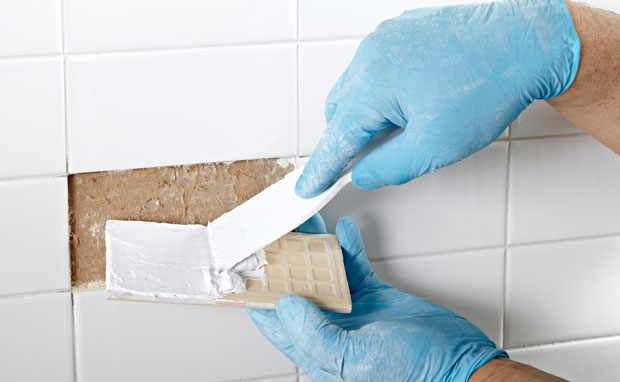 Ceramic tile filler repair