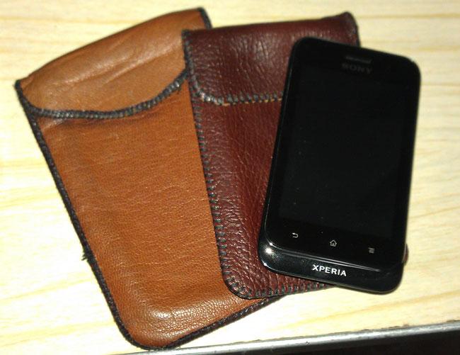 Кожаный чехол смартфон своими руками