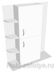 подвесной шкафчик в ванную комнату