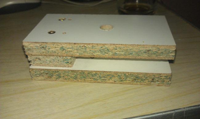 мебельный кондуктор шаблон для сверления