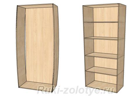 бочкообразная деформация шкафов