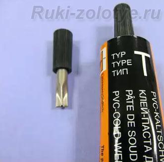 холодная сварка для линолеума тип Т