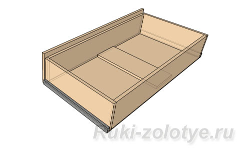 ящик с ребром жесткости