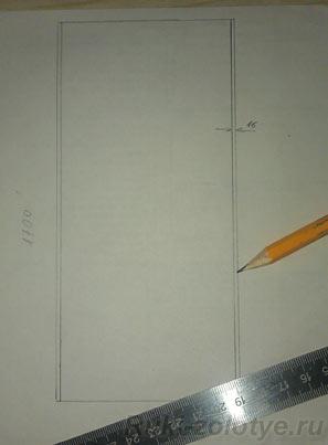 чертим шкаф 2