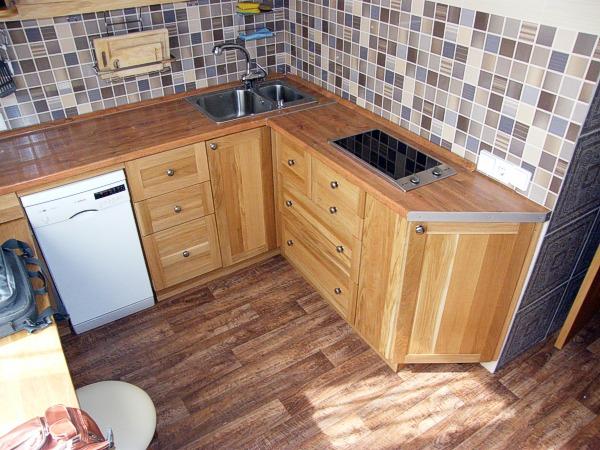компактная техника в маленькой кухне