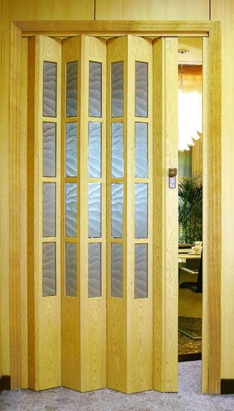сдвижная дверь-гармошка для кухни