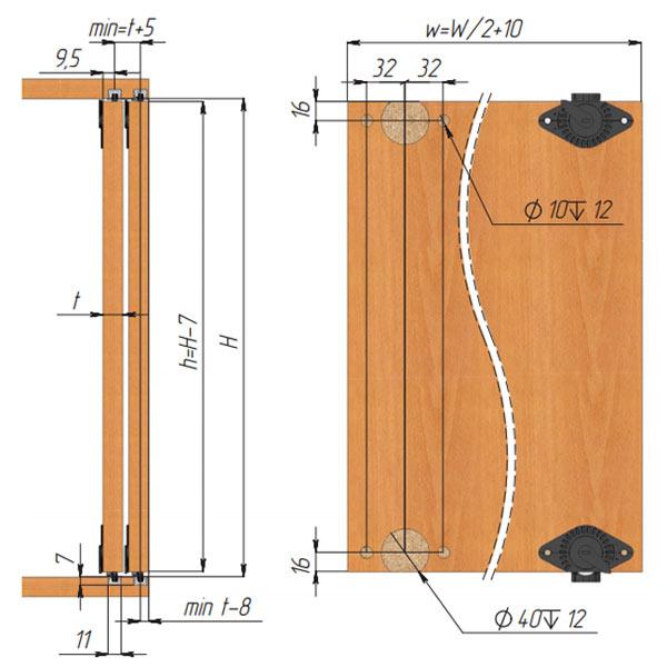 cinetto-PS03-расчет деревянных дверей 1
