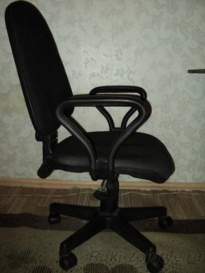 стул после ремонта спинки