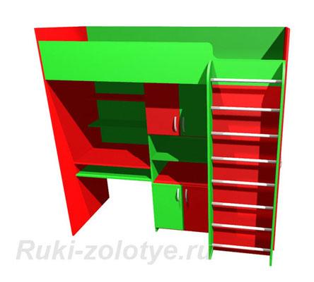 krovat-green3