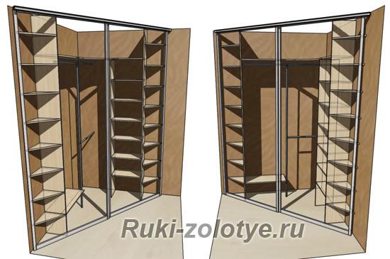 Встроенный-угловой-треугольный-шкаф-купе