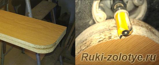 скругление мебельных углов