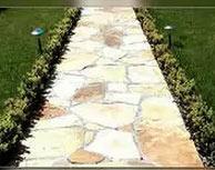 дорожка садовая из гранита