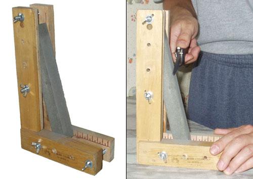 приспособление для заточки ножа