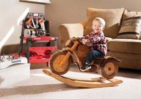 мотоцикл-качалка своими руками