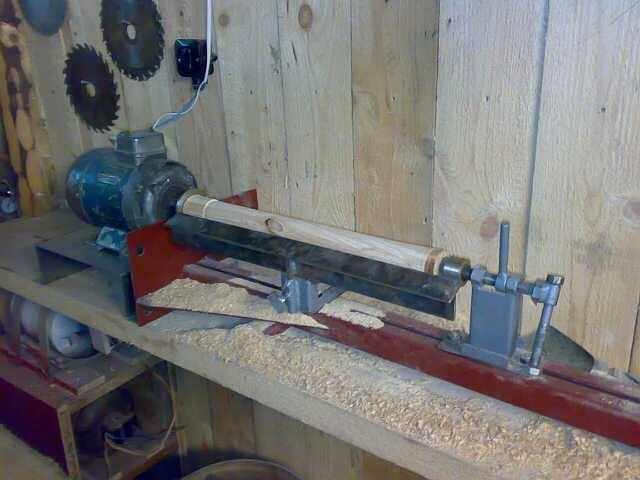 Простой деревообрабатывающий станок своими руками