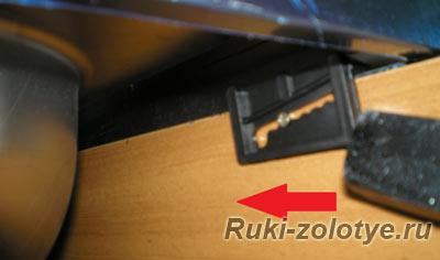 монтаж накладной раковины на стандартные зажимы