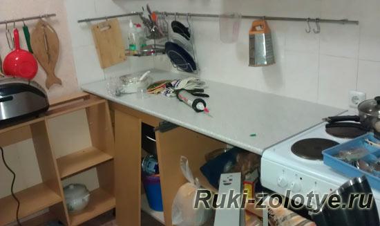 Чем обновить столешницу на кухне своими руками 98