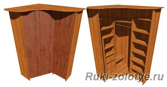 Двери гармошка для шкафа своими руками 147