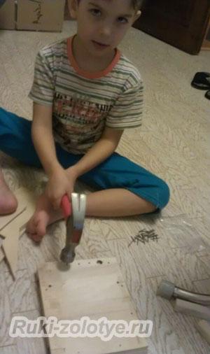 как сделать кормушку своими руками