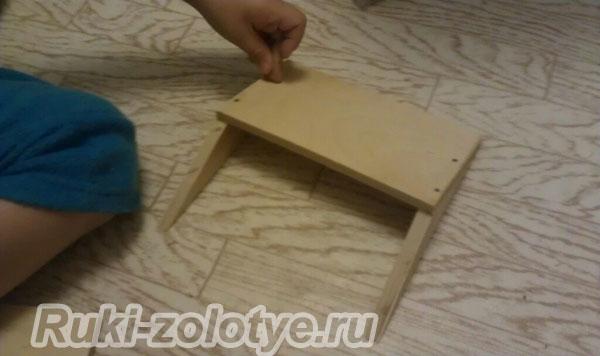 инструкция как сделать кормушку