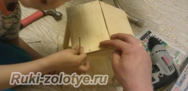 как сделать оригинальную кормушку