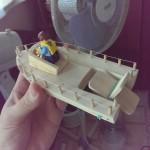 детский самоходный пароход