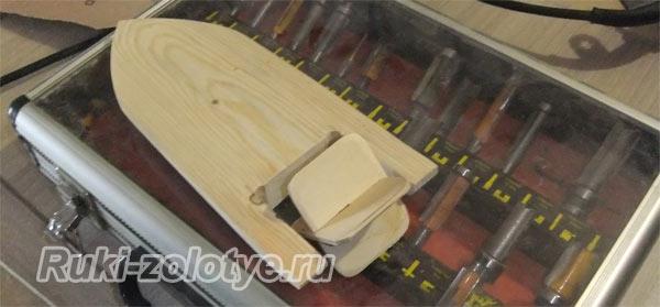 кораблики из дерева для детей