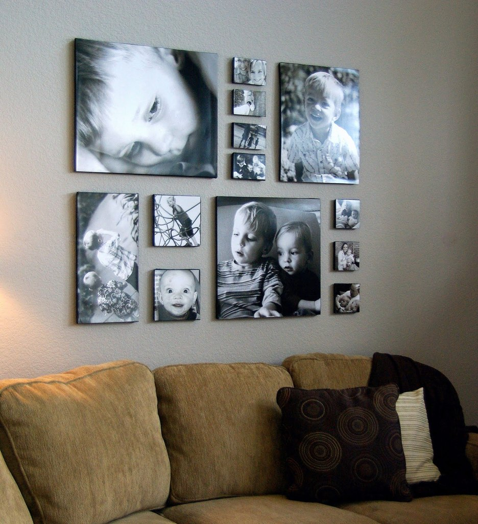 Коллаж на стену из фото своими руками