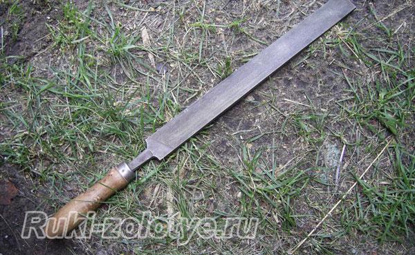 якутский нож своими руками