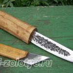 изготовление ножа из напильника