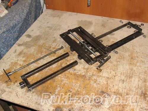 Координатный стол для сверлильного своими руками фото 553