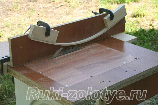 Стол для фрезера и циркулярной пилы