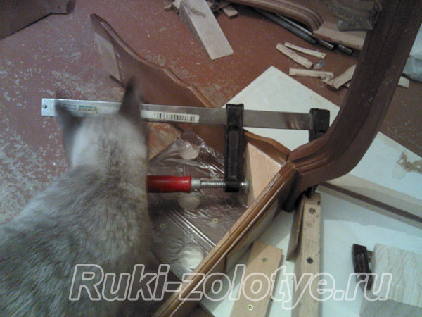 ремонт журнального столика своими руками