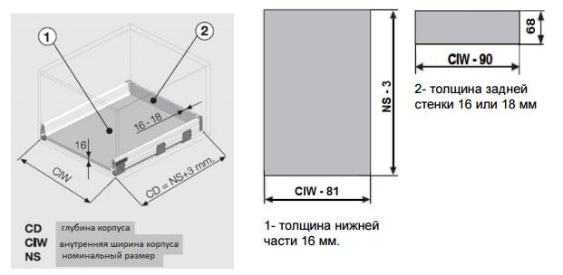 smart-box-SAMET расчет дна и задней стенки ЛДСП