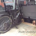 кронштейн для транспортировки велосипедов в багажнике своими руками