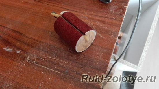 самодельный шлифовальный барабан как сделать