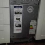 как установить фасад на посудомоечную машину