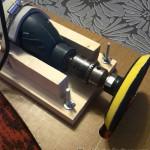 шлифовалка из дрели с аспирацией на скорую руку