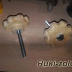 Изготовление винтов-барашков из фанеры