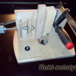 кондуктор для фрезеровки круглых шипов