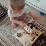 бизиборд для дочери своими руками
