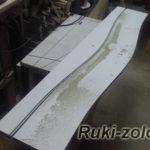изготовления шаблона для фрезера с плавными линиями