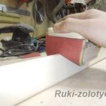 брусок для шлифовки скругленных углов
